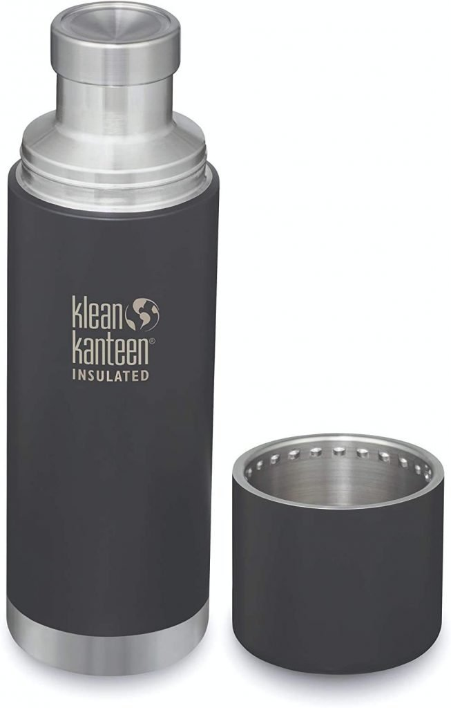 Klean Kanteen double walls insulated water bottle keeps water coldest
